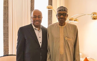 Akpabio and Buhari