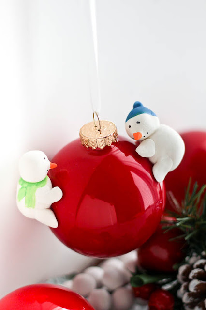 diy snowman christmas ornament