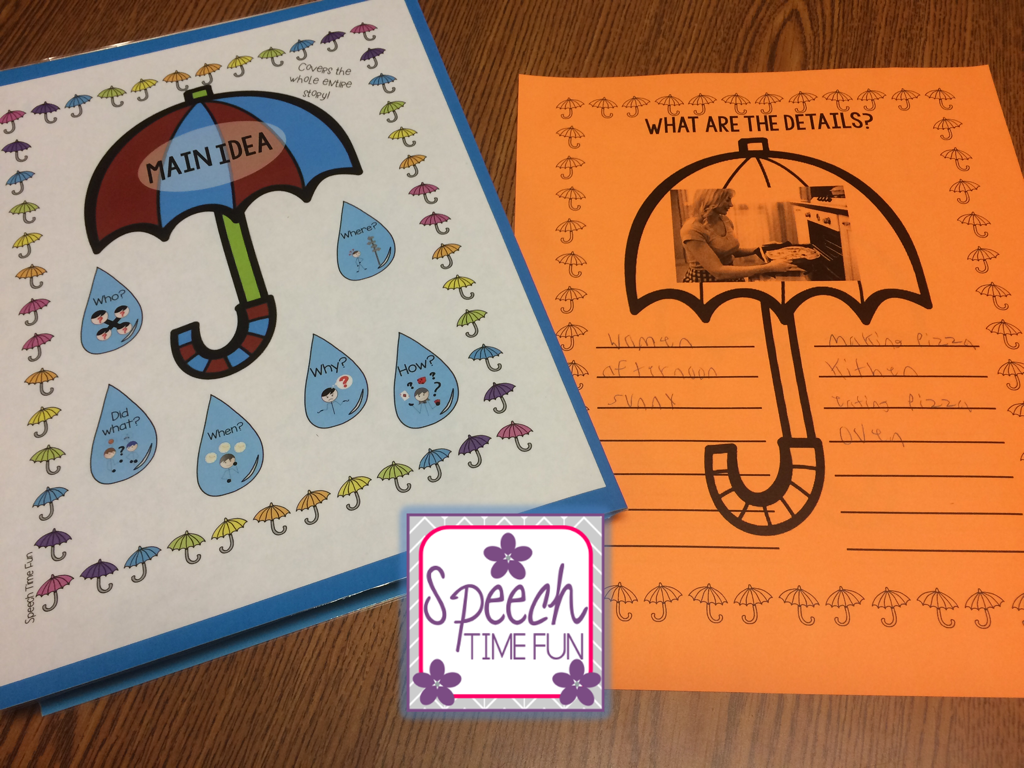 Teaching Main Idea Worksheets And Activities