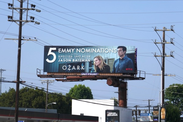 Ozark 2018 Emmy nominee billboard