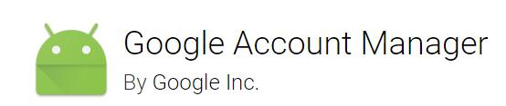 Google Account Manager V5.0- V7.1.2 FREE