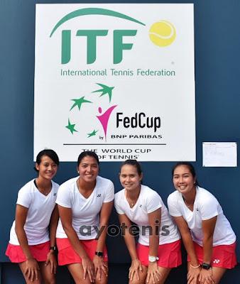 Piala Fed:Indonesia Kontra Sri Lanka di Laga Pamungkas Pool D