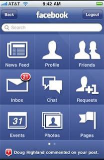Tải Facebook cho điện thoại Java