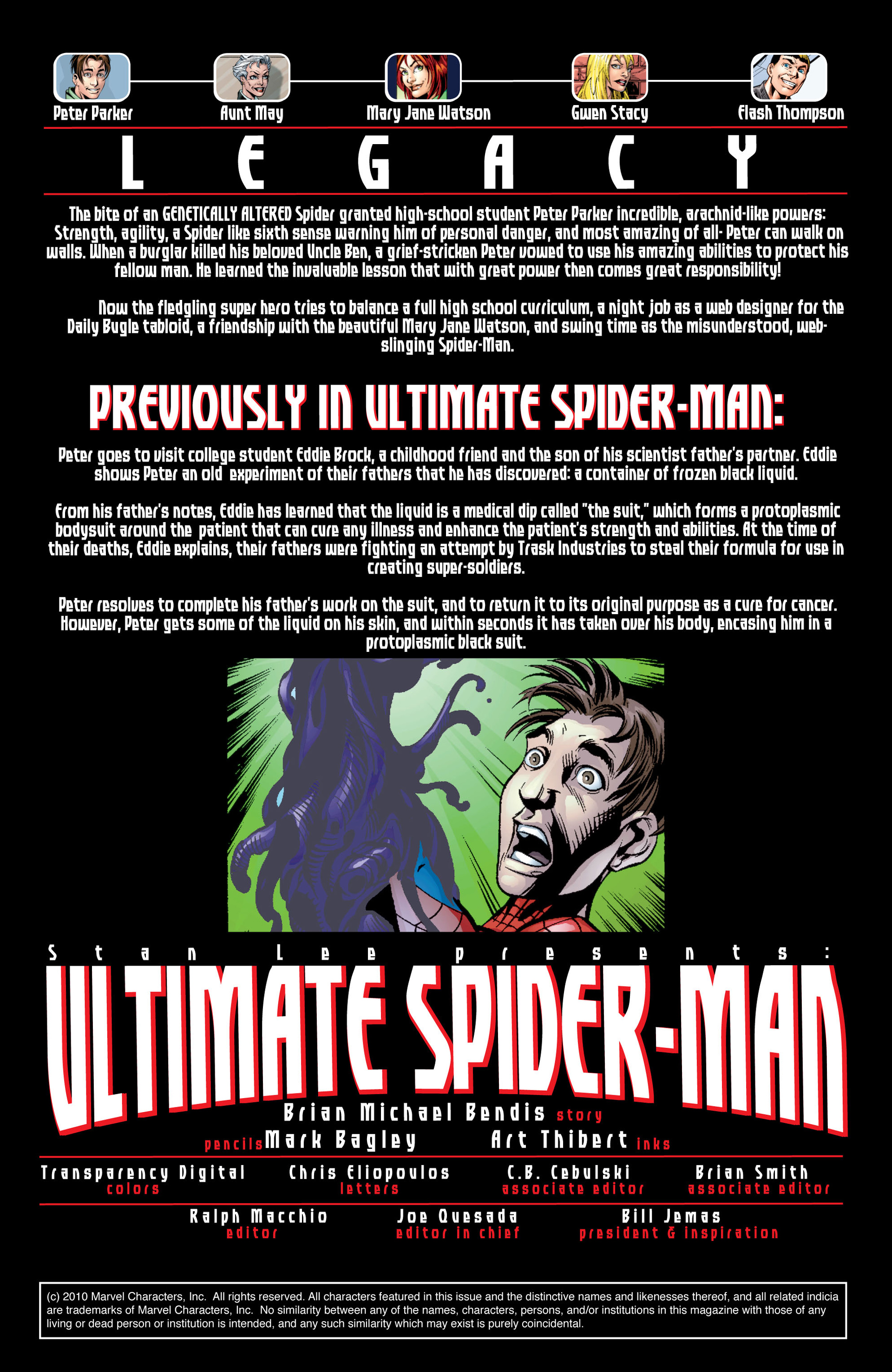 Read online Ultimate Spider-Man (2000) comic -  Issue #35 - 2