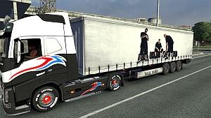 B.U.G. Mafia trailer mod