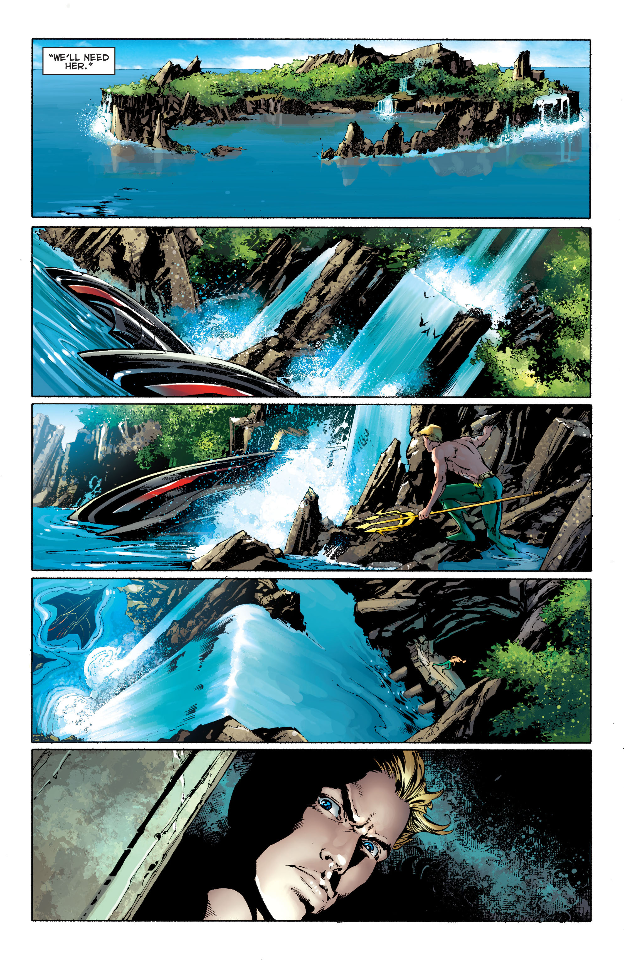 Read online Aquaman (2011) comic -  Issue #11 - 16