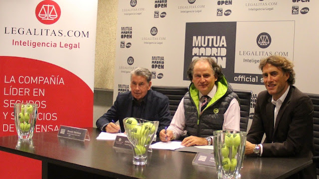 Legálitas protegerá la reputación online del Mutua Madrid Open
