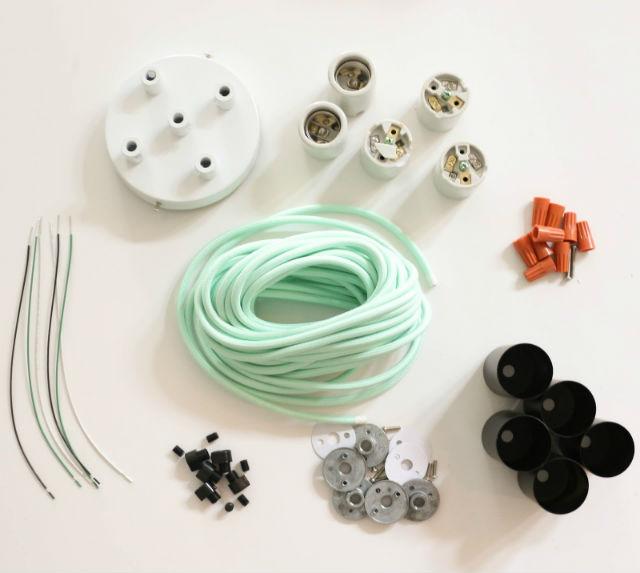 materiales para hacer una lámpara tu mismo