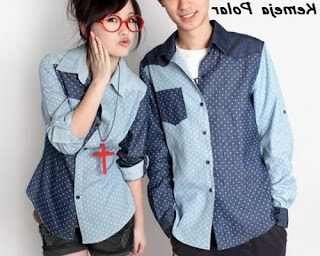 model baju couple buat kondangan