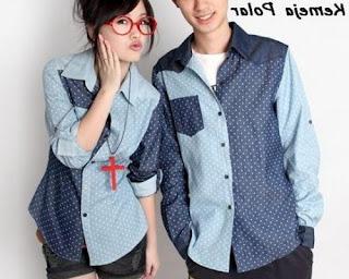 model baju couple buat kondangan