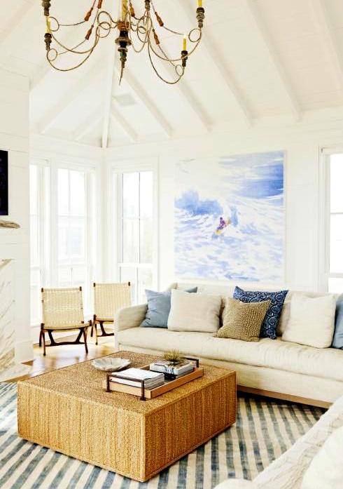 shiplap walls for beach house