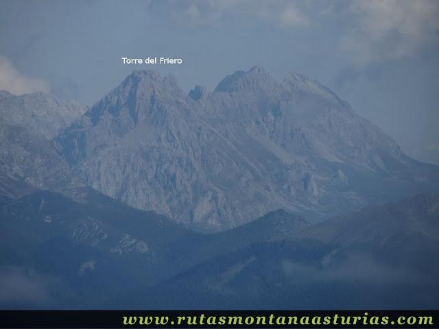 Ruta circular Taranes Tiatordos: Vista desde el Tiatordos de la Torre del Friero