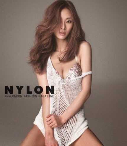 G.Na poses sexily for Nylon Magazine :: Daily K Pop News | Latest ...