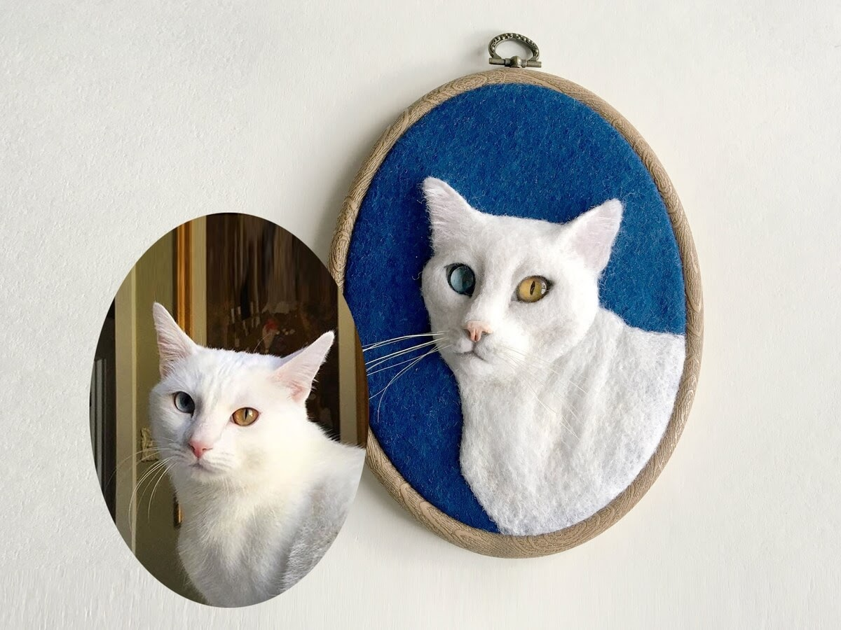 12-Cat-Hanna-Tsukanova-3D-Dogs-&-Cats-Felt-Pet-Portraits-www-designstack-co