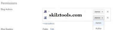 add blog authors