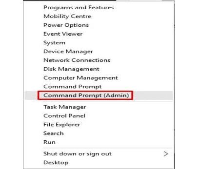 صلاح مشكل تحديث الويندوز عبر إعادة ضبط مكونات ويندوز Windows Components