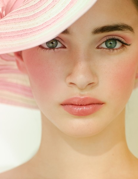 rossetto pesca consigli beauty  beauty tips  come abbinare il rossetto pesca tendenze make up primavera estate 2016 mariafelicia magno color block by felym beauty blog beauty blogger