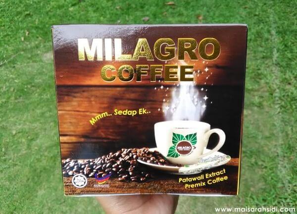 Milagro Coffee Patawali Penawar Kencing Manis