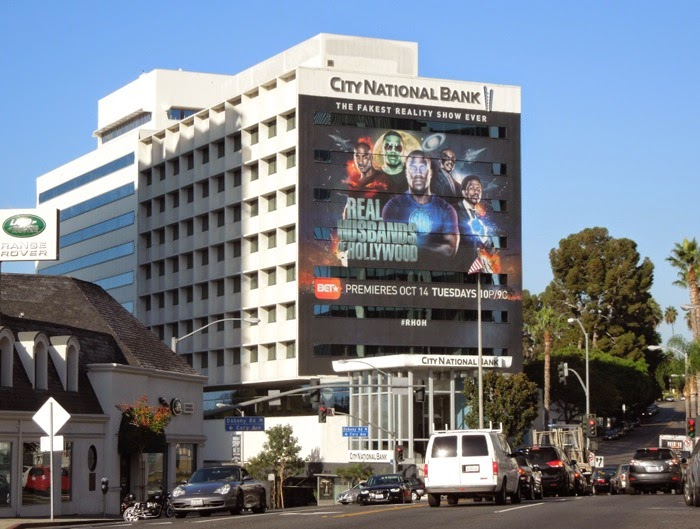 Giant Real Husbands of Hollywood season 3 billboard
