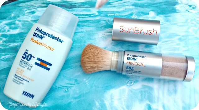 Fotoprotector ISDIN: SunBrush Mineral & Fusion Water