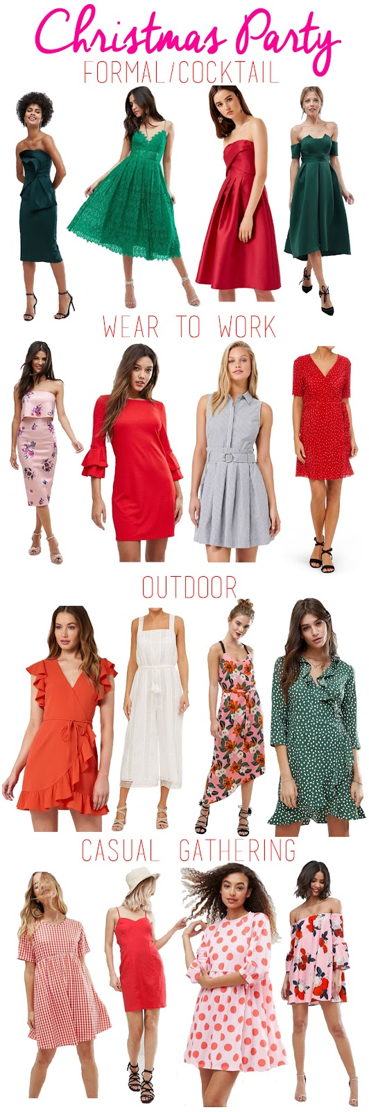 Christmas Party Outfit Ideas The Aussie Prep