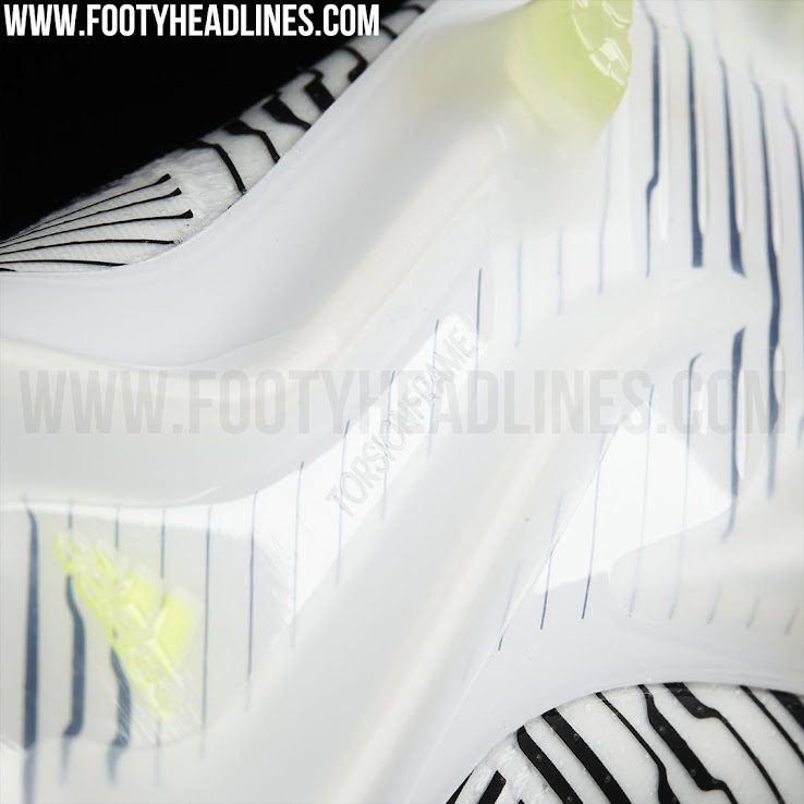 ab0a58ef82c5 The white, black and hi-vis yellow Adidas Nemeziz 2017 football boots will  be released shortly as part of the Adidas Dust Storm football boots pack  (retail ...