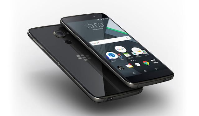 Harga Blackberry DTEK60 dan Spesifikasi