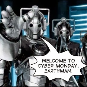 Cyber Monday CyberMan Graphic by Kevin Marks