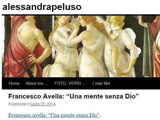 https://alessandrapeluso.wordpress.com/2014/07/20/francesco-avella-una-mente-senza-dio/