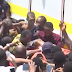 Watch moment a child is rescued from the collapsed school building which in Itafaji, Lagos state