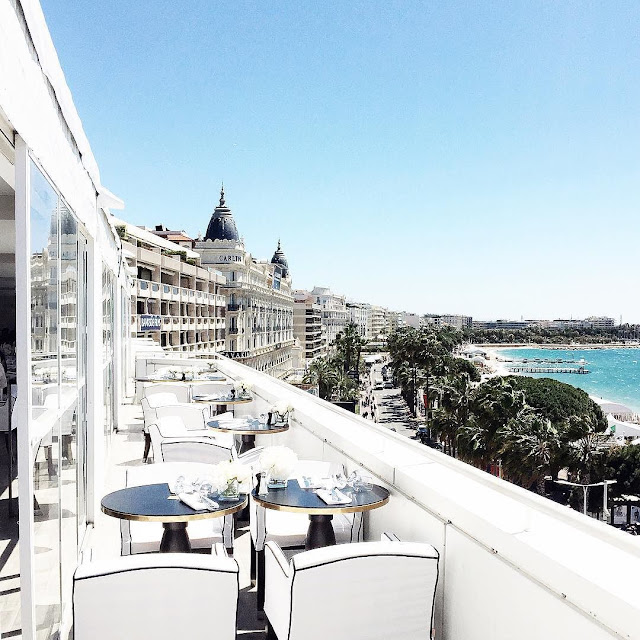 Lunch in Cannes by Paris in Four Months