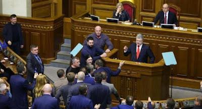 Верховна Рада затвердила запровадження воєнного стану на 30 діб