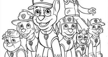 Imagina Y Recicla ★ Dibujos Para Colorear Patrulla Canina
