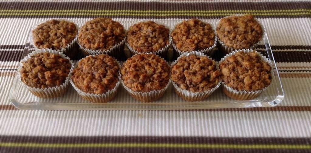 Cevizli Muzlu Light Muffin