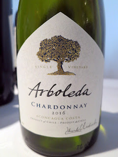Arboleda Single Vineyard Chardonnay 2016 (88 pts)