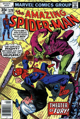 Amazing Spider-Man #179, the Green Goblin and Silvermane