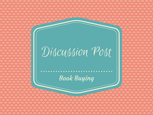 Discussion Post - Book Buying