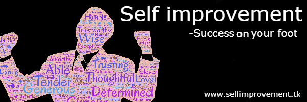 Self Improvement - Success On Your Foot