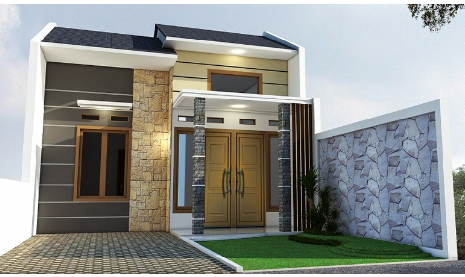 Model Desain Rumah Minimalis: 34 Model Loster Rumah
