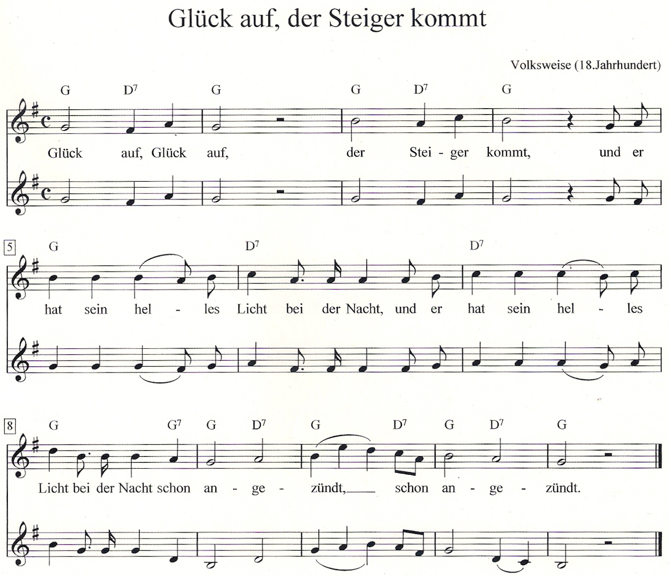 Steigerlied Text Schalke