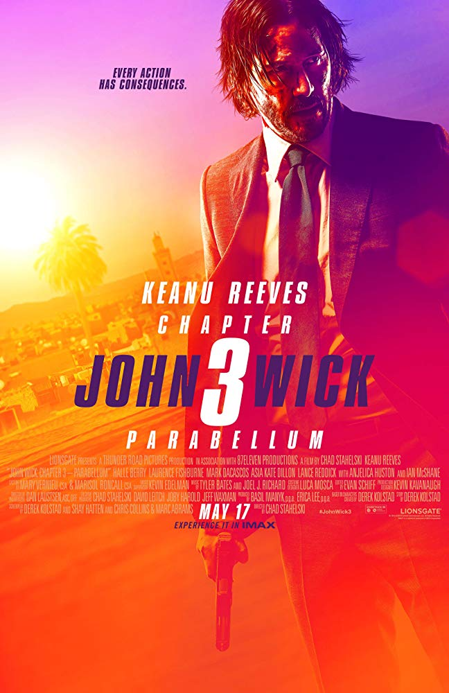 """Movie Review: """"John Wick: Chapter 3 - Parabellum"""" (2019)"""
