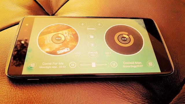 Das Smartphone wird zur DJ-Konsole | Alcatel Idol4s und die überragende Musikfunktion