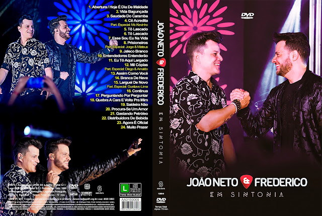 Capa DVD João Neto & Frederico Em Sintonia [Exclusiva]