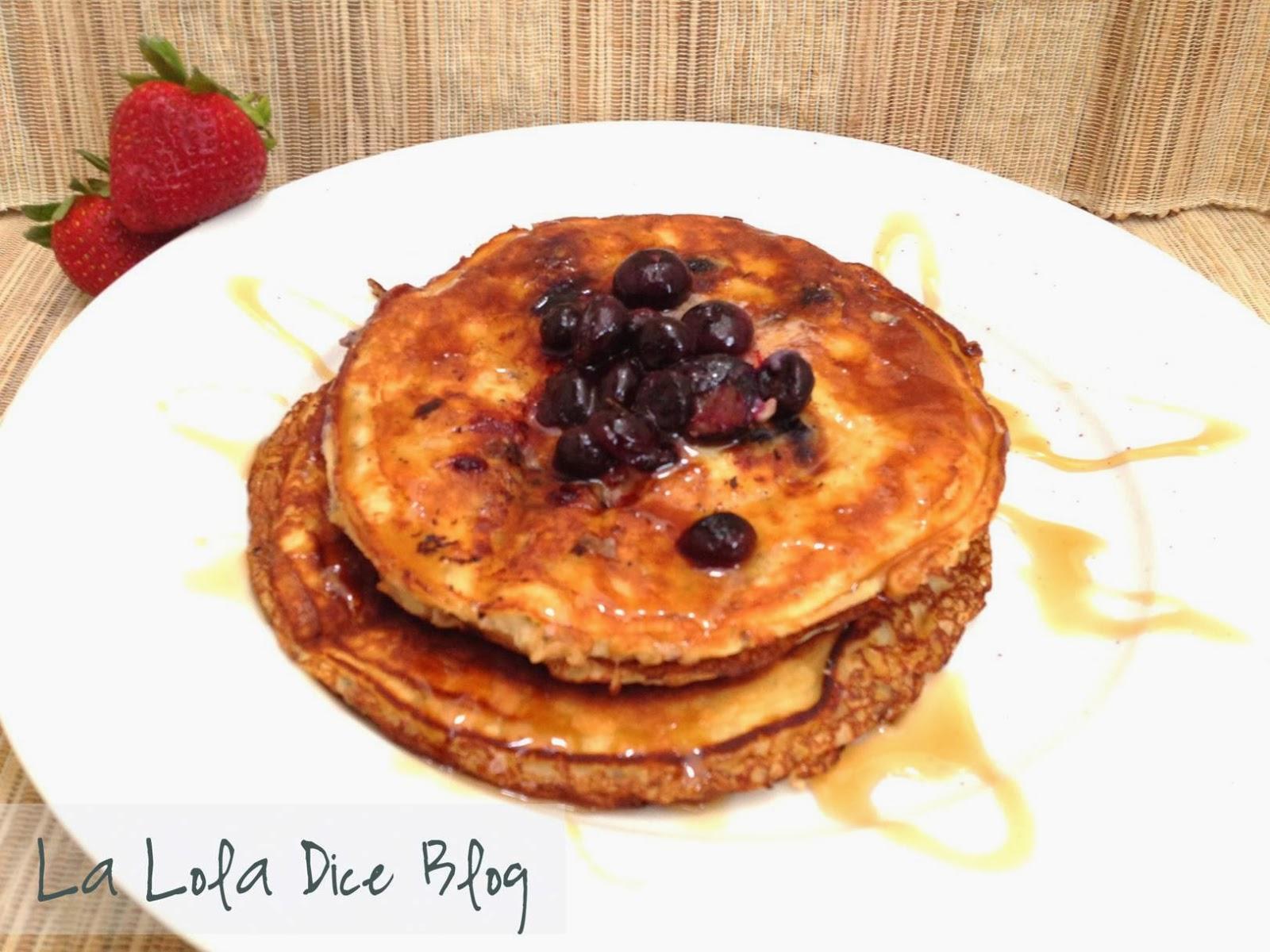 Hot Cakes De Harina De Almendras La Lola Dice