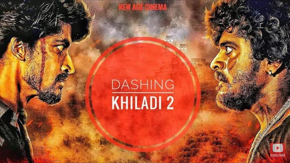 Dashing Khiladi 2 (Atharva Kannada) 2019 Hindi Dubbed 720p HDRip x264 500MB
