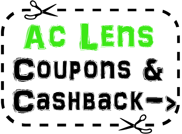 AC Lens Discount Coupon 2016, AcLens.com Promo Code April, May, June, July, August