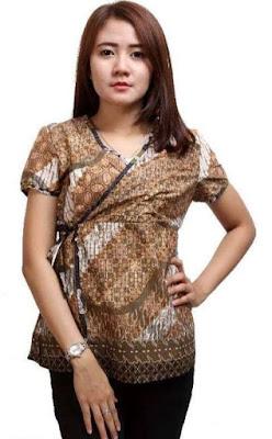 Model Baju Batik Kerja Untuk Remaja