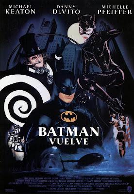 Batman vuelve, Tim Burton, Michael Keaton, Danny de Vito, Michelle Pfeiffer