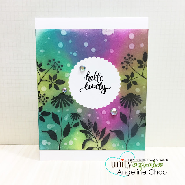 ScrappyScrappy: [NEW VIDEO] Distress Water Drops with Unity Stamp #scrappyscrappy #unitystampco #ginakdesigns #card #cardmaking #papercraft #timholtz #distressink #quicktipvideo #youtube