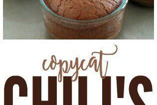 COPYCAT CHILI'S MOLTEN LAVA CAKE RECIPE